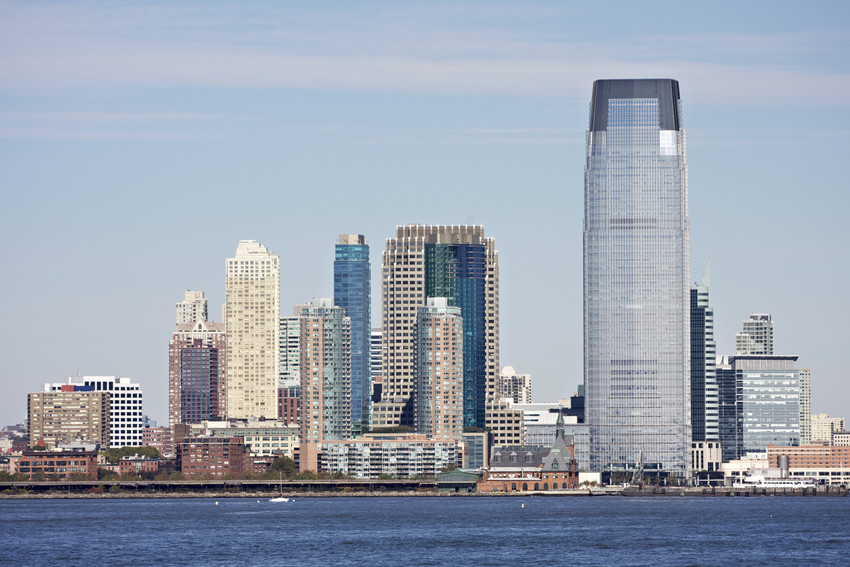 Jersey City real estate views of Manhattan