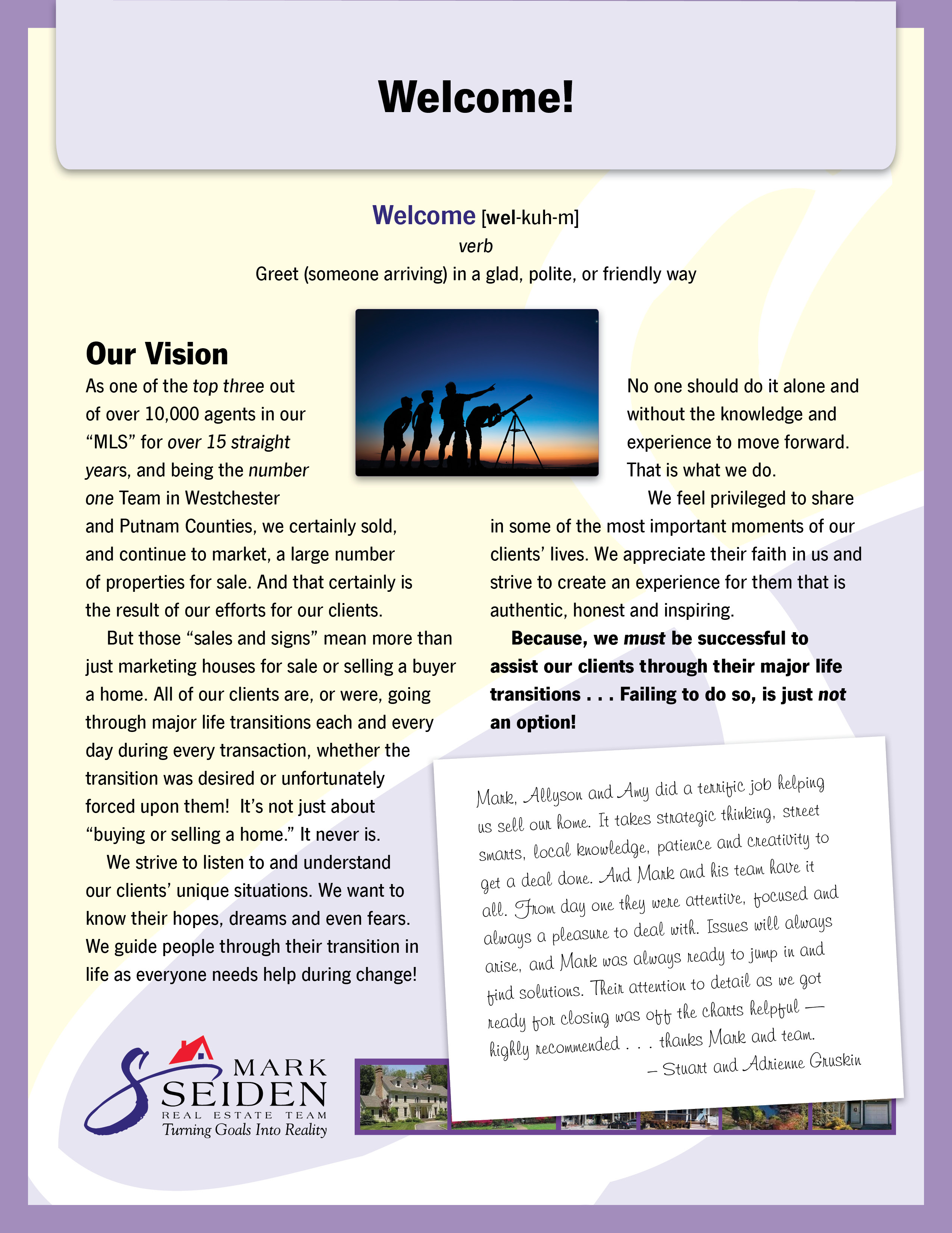 Vision Statement - Seller