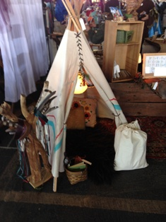 Teepee for sale at Vintage Lynchburg